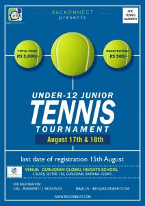 Under - 12 Junior Tennis Tournament