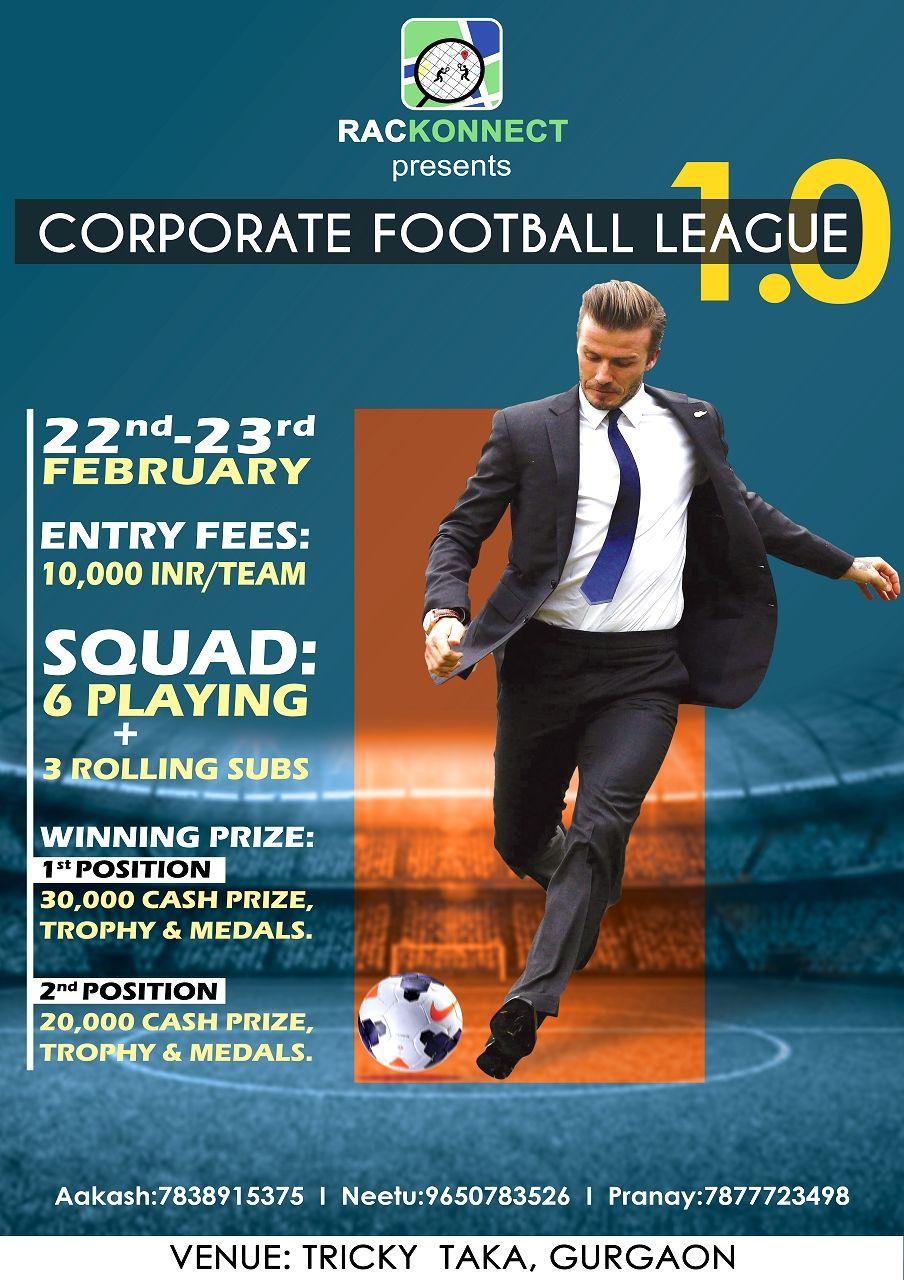 Rackonnect Corporate Football League 1.0