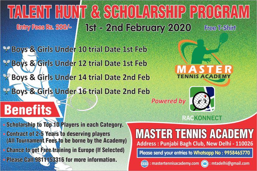 Rackonnect Talent Hunt & Scholarship Programme