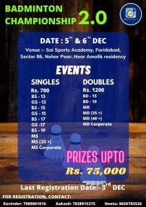 Rackonnect Badminton Championship 2.0