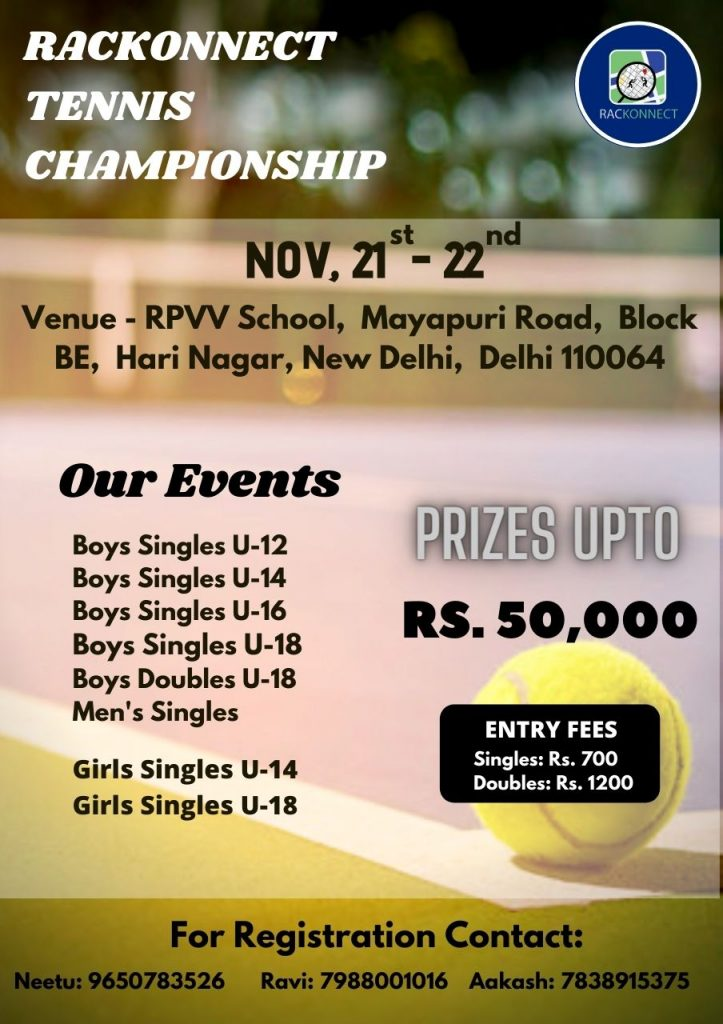 Rackonnect Tennis Championship