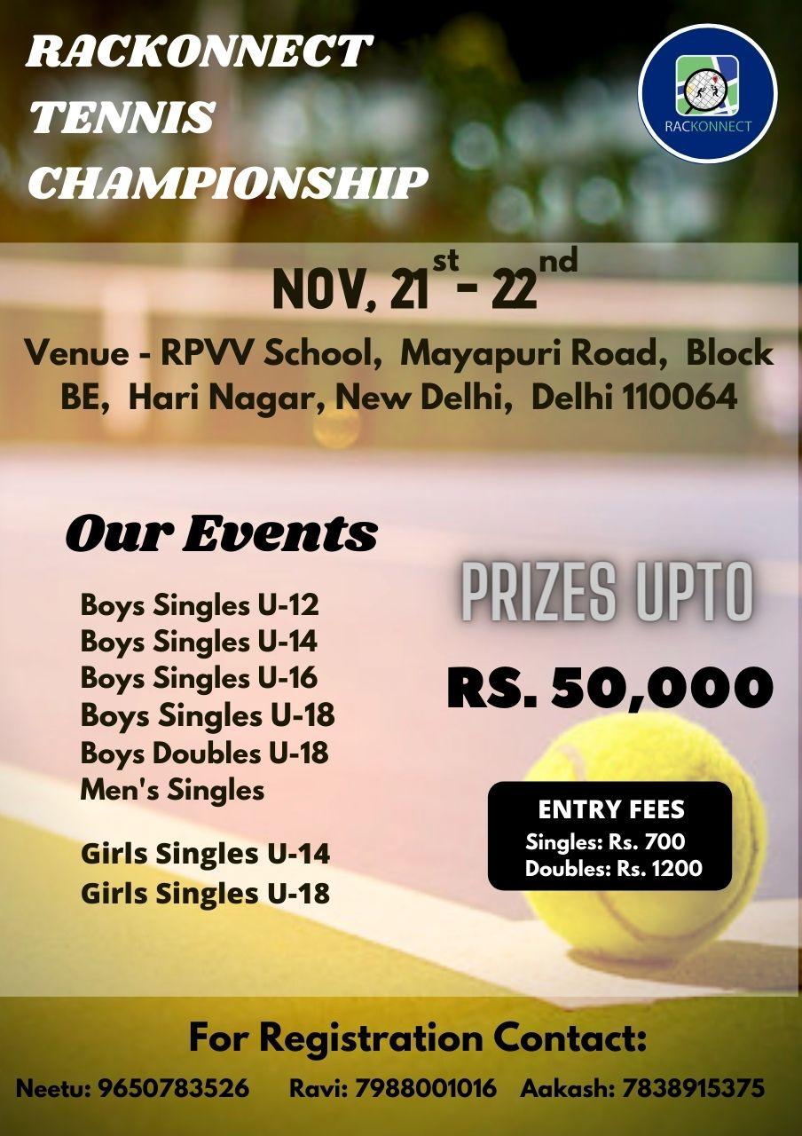 Rackonnect Tennis Championship